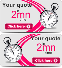 Your quote in 2 minutes time